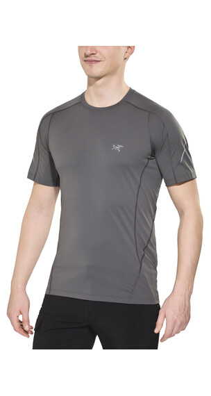 Arc'teryx Motus SS Crew Shirt Men Iron Anvil